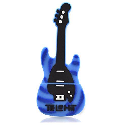 818-Shop No13200020128 - Memoria USB de 128 GB, diseño de guitarra eléctrica,...