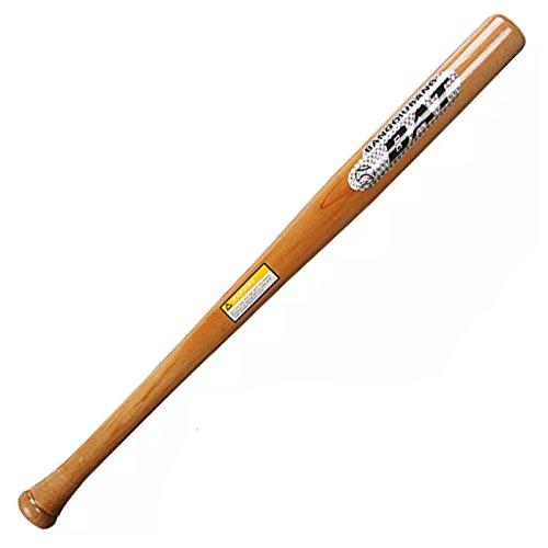 AllRight Baseballschläger Holz Baseball Schläger Softballschläger 64/74 / 84 cm (84 cm)