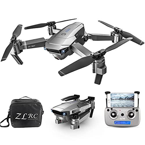 Staright SG907 5G WiFi 4K RC Drone con Doppia Fotocamera GPS Posizionamento del Flusso Ottico Interfaccia MV Seguimi Gesto Foto Video RC Quadcopter con Borsa Portatile