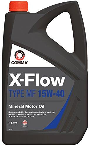 Comma XFMF5L Huile Moteur minérale X-Flow Type MF 15W40 5 l
