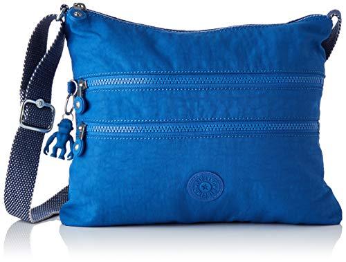 Kipling Damen Alvar Umhängetasche Blau (Wave Blue)