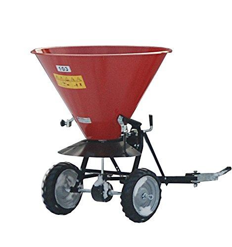 Streuwagen geeignet für Sand und Salz, Trichter-Inhalt 105 Liter, max. Streubreite 6 m, lackiert