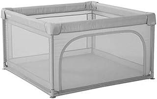 灰色の遊び場、子供用の幼児幼児用プレイヤー旅行用ベッドベッドクロール遊び場、オックスフォード布 (サイズ さいず : 120x120x70cm)