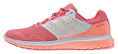 adidas Damen Performance Duramo 7 Women Laufschuhe, Pink (Super Schamröte/dust metallic/Schockrot), 40 2/3 EU