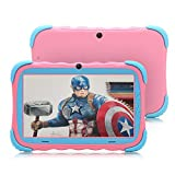 【Upgraded】 iRULU 7 inch Android 7.1 Kids Tablet IPS HD Screen 1GB/16GB Babypad Edition PC with WiFi and Camera and...