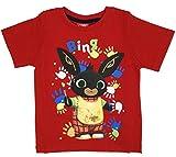 -Bing - Camiseta de conejo, talla 1, 2, 3, 4, 5 años, verano 2020 Rosso1 6 años