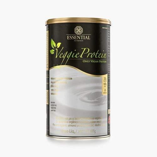 Veggie Protein 100% Vegetal Lata - Cacau - Essential Nutrition, Essential Nutrition, Chocolate, Lata 405g