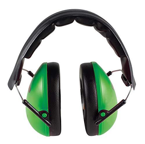 STYLEX 42302 gehoorbescherming SX-4230, groen, voor geconcentreerd leren op school en thuis, bescherming tegen lawaai en volume bij concerten, evenementen, in het stadion blauw