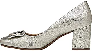 Naturalizer Womens Wright Leather Closed Toe Classic, Platina Leath, Size 5.0