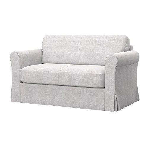 Soferia - IKEA HAGALUND Funda para sofá Cama, Naturel White