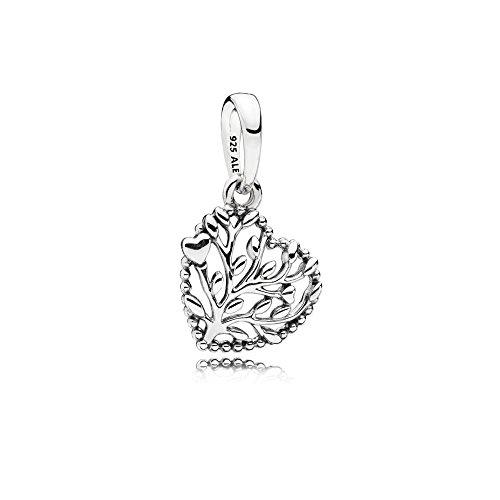 Pandora Flourishing Hearts Silver Dangle Charm 797140