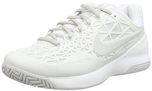 Nike Zoom Cage 2, Damen Tennisschuhe, Weiß (Summit White/Light Bone), 40.5 EU (6.5 Damen UK)