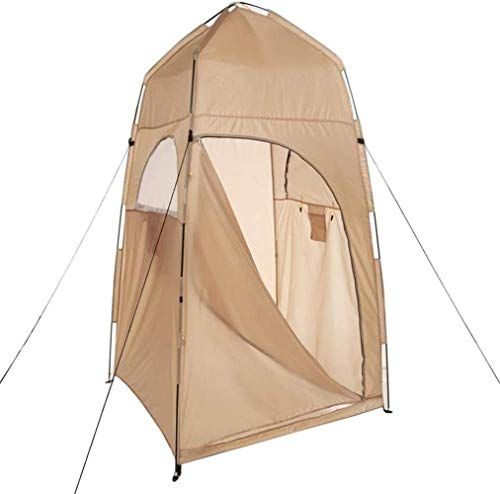 HEG - Tienda de campaña para vestidor, impermeable, plegable, para tienda de campaña al aire libre, refugio de lluvia para camping y playa, ligero y resistente, fácil de configurar
