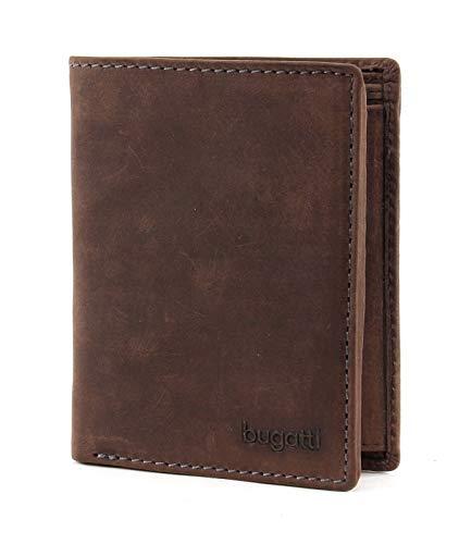 bugatti Hunter Coin Wallet Combi Style 13CC Brown