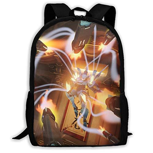 IKUI Pharah Adult Backpack, Laptop Backpack for Women Men,School College Backpack