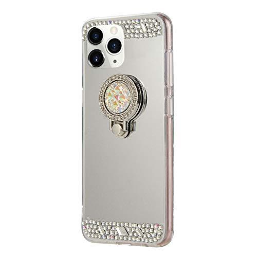 DasKAn Diamante de imitación Espejo Caso para iPhone 11 Pro MAX 6.5'',...