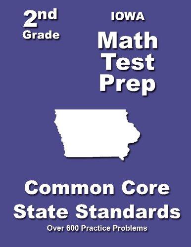 Iowa 2nd Grade Math Test Prep Common Core State Standards