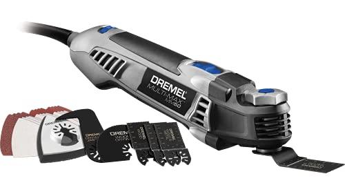 Dremel MM50-01 Multi-Max Oscillating DIY Tool Kit with Tool-LESS Accessory Change- 5 Amp- Multi Tool...