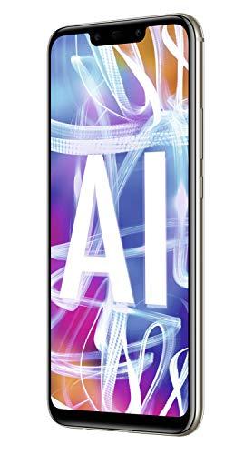 Huawei Mate20 lite Dual Nano-SIM Smartphone BUNDLE (16 cm (6.3 Zoll), 64GB interner Speicher, 4GB RAM, 20MP + 2MP Kamera, Android 8.1, EMUI 8.2) Platinum Gold [Exklusiv bei Amazon] - Deutsche Version - 4