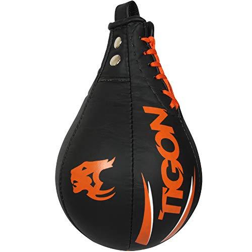 Tigon PRO Speed Ball Dodge Ball - Sacco da Boxe Speedball MMA, a Forma di Pera, per Allenamento
