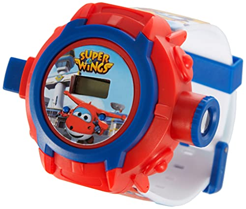 Disney Super Wings WI17002 Digitaluhr mit Projektor für 24 Fotos