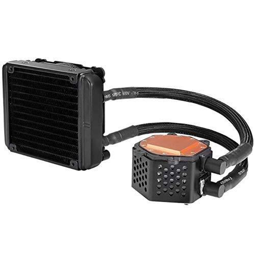 Procesador De Abanico Agua Ventilador De La CPU RGB De La Iluminación del Refrigerador del Ordenador Sistema del Disipador De Calor del Radiador Fluido De Soporte De Ventilador para Intel/AMD