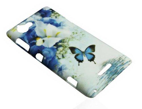 PeKa Internethandel Design Back Cover Hard Case – Design No.2 – Handy Hülle Schale Kappe für Sony Xperia L - S36h