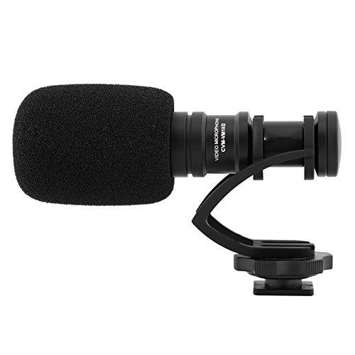 Lichte cardioïde videomicrofoon Videomicrofoon met cardioïde patroon(black)