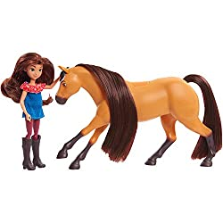 Perfect size for little hands and collectability. Collect all three Doll and Horse Sets: Lucky and Spirit, Abigail and Boomerang, and Prudence and Chicca Linda. Each set sold separately. Ages 3+.