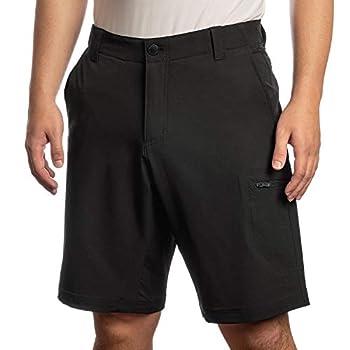 by ZeroXposur Men s Stretch Travel Short Model# T87330S Color  Black  34