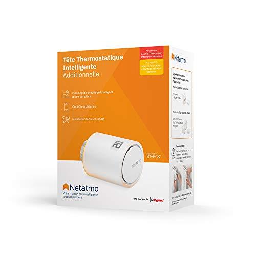 Tête thermostatique connectée Netatmo 2