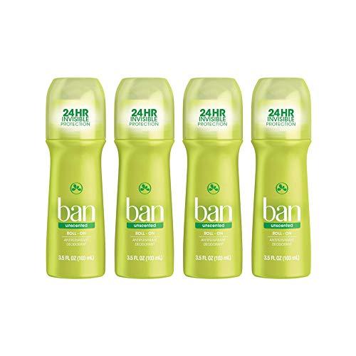 Ban Roll-On Antiperspirant Deodorant