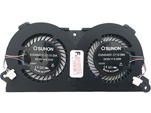 Lüfter Kühler Fan Cooler kompatibel für Asus Taichi 31, Taichi 21, Model: EG50040S1-C110-S9A, P/N : 13NB0081P07021