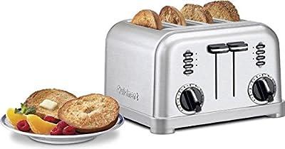 Cuisinart Pro 4 Slice Toaster-brushed