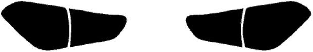 Rtint Tail Light Tint Covers for Infiniti QX56 2011-2017 / QX80 2011-2013 - Matte Smoke