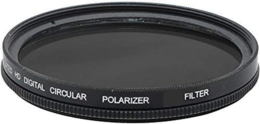 58mm Circular Polarizer Filter (C.P.L) with Multi-Resistant Coating For Canon XA10, XA25, XF100, XF105