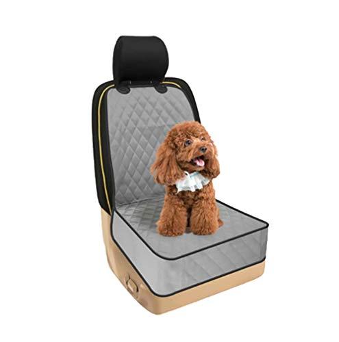 RUIX Hunde Autositz Auto Haustier Auto Matte/Anti-Schmutzig/Wasserdicht/Hundekissen/Haustier Sicherheitssitz/Haustier Reisen,Gray