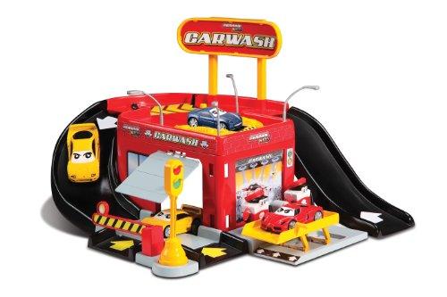 Bburago - 31281 - Véhicule Miniature - Garage - Station Ferrari Kids