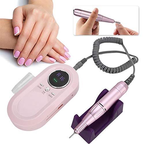 Elektrische Nagel-Bohrgerät Tragbare Elektrischen Nagel-Bohrgerät-Maniküre-Poliermaschine Nagel-Kunst-Zubehör Für Nagelstudio