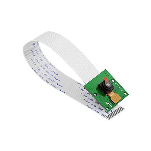 KEYESTUDIO per Raspberry Pi 4, Telecamera Modulo Telecamera 5mp Sensore 1080p per Raspberry Pi Modello A,B, B +, Modello 2, Lampone Pi 4/3/2