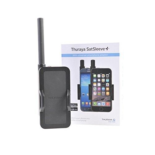 Thuraya SatSleeve + Satelliet Telefoon met Standard Prepaid Sim Kaart 10 Eenheden/ 365 Dagen