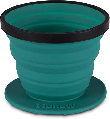 Sea to Summit X-Brew Coffee Dripper - Faltbarer Kaffeefilter, pacific blue, 101-32