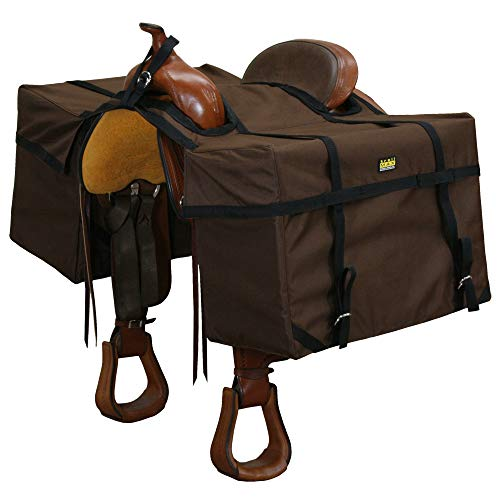 "TrailMax ""Over-The-Saddle Pack Pannier Bags, Fits Over Most Western 