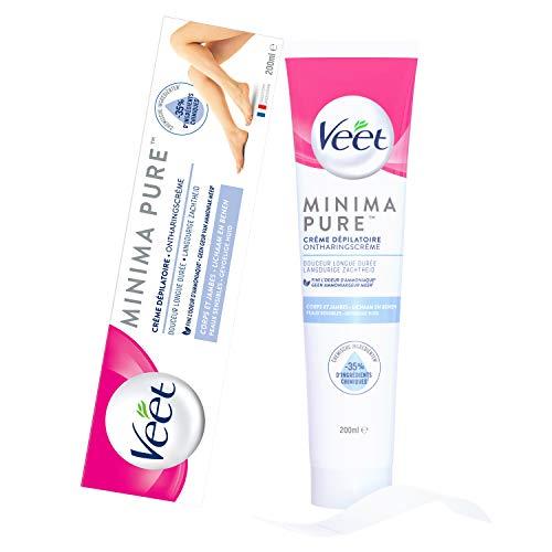 Veet Minima Pure Crème Dépilatoire Peaux Sensibles - Le tube de 200ml