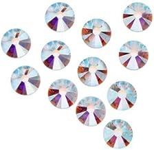 7ss 2.2mm Swarovski Elements #2058 Rhinestones Foiled Flatbacks Crystal AB 144 pcs