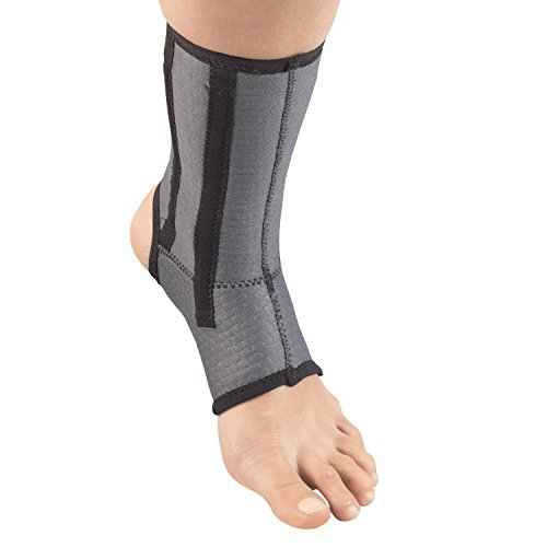 Champion Ankle Brace, Open Heel, Flexible Support Stays, Airmesh Fabric,...