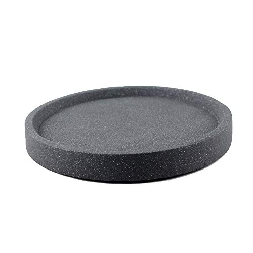 Big Size Silicone Cement Mold Handmade Round Concrete Tray Mould