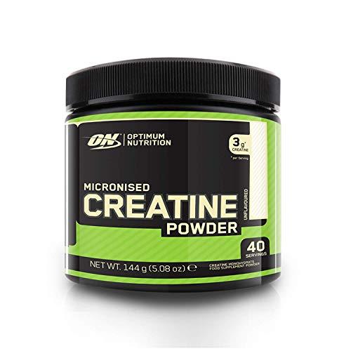 Optimum Nutrition Creatin Monohydrat Pulver, ON Kreatin hergestellt für Muskelaufbau, 40 Portionen, 144g