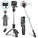 ELEGIANT Bastone Selfie Wireless, 4 in 1 Asta Selfie Stick Bluetooth (100cm) con Treppiede...