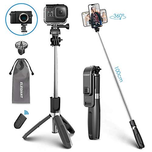 ELEGIANT Palo Selfie Trípode Bluetooth,...